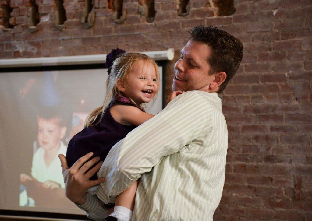 Maddie dancing with Dave (Photo © Jennifer Reynolds at Dottie Loo Photography, used with permission)